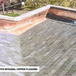 Shingle Roof with Copper Flashing 1