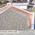 Shingle Roof with Copper Flashing 2